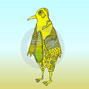 Bird Pattern Yellow Stock Photos - Image: 5457453