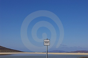 Passing Place Stock Images - Image: 5462564