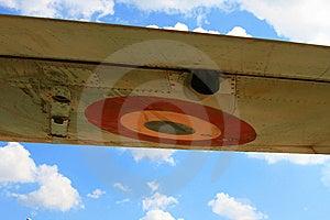 Mig Wing Stock Photo - Image: 5462610