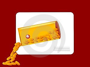 Derrame A Medicina Fotografia de Stock - Imagem: 5463722