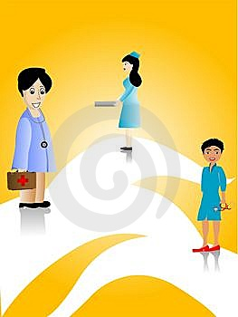 Female Doctors Royalty Free Stock Photos - Image: 5463758