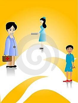 女性医生 免版税库存照片 - 图片: 5463758
