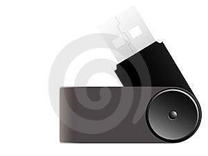 Pen Drive Stock Image - Image: 5465101