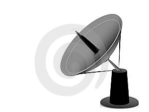Dish Antenna Royalty Free Stock Images - Image: 5465109