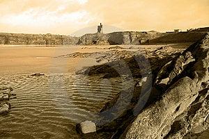 Ballybunion Castle Rocks 1 Stock Photography - Image: 5466482