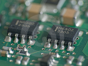 Electronic Parts Royalty Free Stock Photography - Image: 5471057