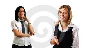 Handshaking Z Partnerami Obraz Stock - Obraz: 5471381
