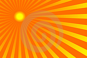 Sun 3 Royalty Free Stock Photography