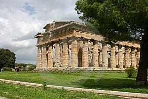 Temple Of Hera In Paestum. Stock Photo - Image: 5476790