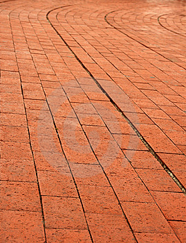 Curve Brick Wall Royalty Free Stock Photography - Image: 5482577