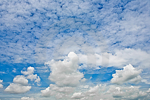 Little Fluffy Clouds Royalty Free Stock Photos - Image: 5483778