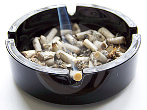 Ashtray Royalty Free Stock Photo - Image: 5483965