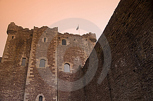 The Mighty Castle Stock Images - Image: 5489694