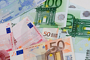 Euro Money Stock Photography - Image: 5495802