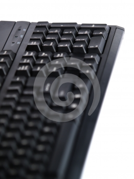 Keyboard With Depth Of Field Stock Images - Image: 556924