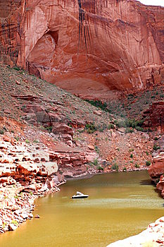 Lake Powell Canyon Stock Photo - Image: 5500470