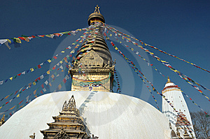 Swayambhunath Stupa In Kathmandu Valley Royalty Free Stock Photography - Image: 5504717