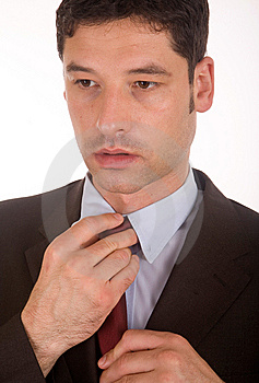 Man In A Suit Stock Image - Image: 5507671