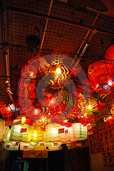 Lanterns 14 Royalty Free Stock Image - Image: 5509986