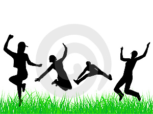 People jumping Free Stock Photos