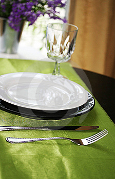 Dinning Table Stock Photo - Image: 5517070
