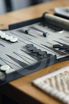 Backgammon Board Game Royalty Free Stock Photos - Image: 5517288