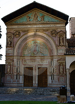 Church, Umbria Royalty Free Stock Image - Image: 5519316