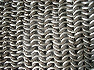 Texture Of Antique Chain Mail Stock Images - Image: 5519504