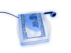 Dollar And Music Royalty Free Stock Photography - Image: 5520427