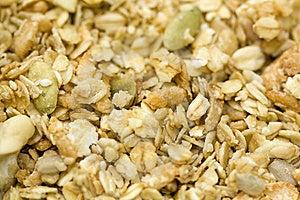 Organic Granola Stock Images