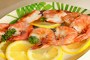 Large Shrimps Stock Photos - Image: 5526823