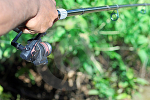 Fischerei Lizenzfreie Stockbilder - Bild: 5527659