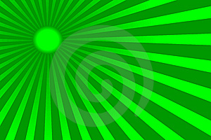 Green Sun  Stock Images - Image: 5528934