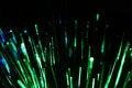 Green fiber Royalty Free Stock Image