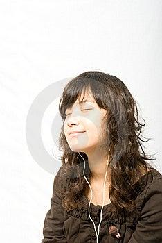 Goda Della Musica Fotografia Stock Libera da Diritti - Immagine: 5531987