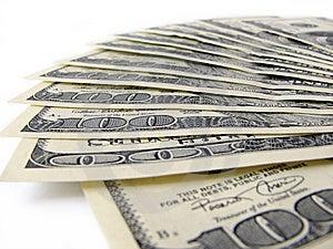 Pila De Cuentas De $ 100 Fotografía de archivo - Imagen: 5534222