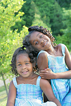 2 sisters Free Stock Photography