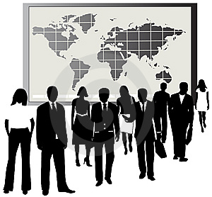 People and map Free Stock Photos