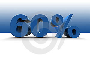 60% Royalty Free Stock Photography - Image: 5537037