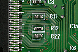 Electronic Component Royalty Free Stock Photography - Image: 5541047