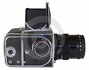 Old Photo Camera Royalty Free Stock Photo - Image: 5541275