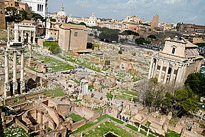 Roman Forum Royalty Free Stock Images - Image: 5543729