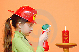 Firegirl Royalty Free Stock Photography - Image: 5545107