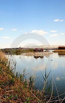 The Pond II (Mogan Park, Ankara/Turkey) Stock Photo - Image: 5548560