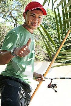 Pesca, Afición En El Fin De Semana Foto de archivo libre de regalías - Imagen: 5548735