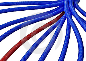 Cable Connection Fiber 7 Stock Photo - Image: 5550990