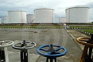 Fuel Depot Royalty Free Stock Photo - Image: 5552765