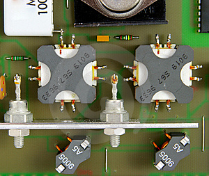 Printed Circuit-board Royalty Free Stock Photos - Image: 5553918