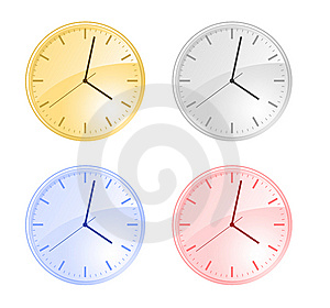 Clock Stock Image - Image: 5556571