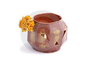 Halloween Lantern Stock Photo - Image: 5556890